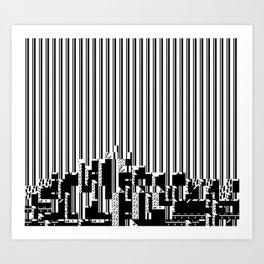 Akira (J)-7 (2011) Art Print