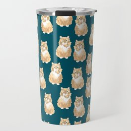 BJ Pattern Travel Mug