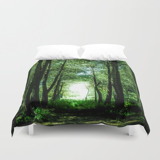 I found my way Duvet Cover