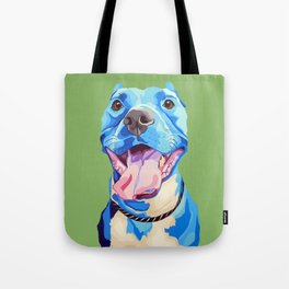 Ziggy the Pit Bull Terrier Tote Bag