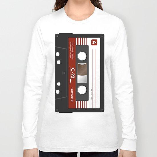cassette K7 5 C90 Long Sleeve T-shirt