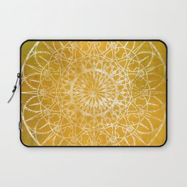 Fire Blossom - Yellow Laptop Sleeve