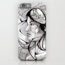 Inevitably her mind was not her own iPhone Case