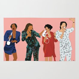 Living Single 90's TV Classic Rug