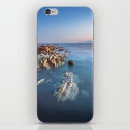 Ocean and Rocks iPhone Skin