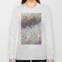 Iridescent Aura Crystals Long Sleeve T-shirt