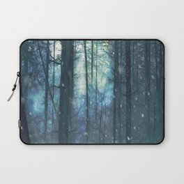 The Woods In Winter Laptop Sleeve