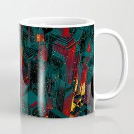 Night city glow cartoon Coffee Mug