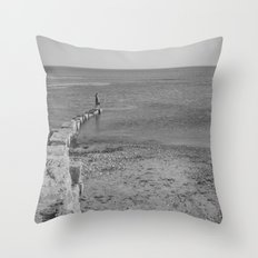 come sail your ships... Throw Pillow