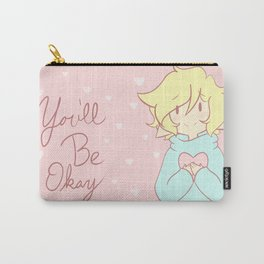 You'll Be Okay Hearts Carry-All Pouch
