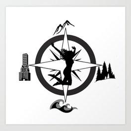 Adventure Bod - Logo Art Print