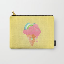 Strawberry Rainbow Carry-All Pouch