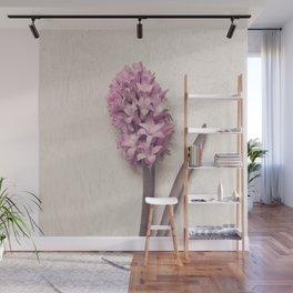 Pink Hyacinth Wall Mural