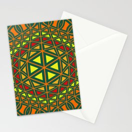 Geometric abstract art Stationery Cards