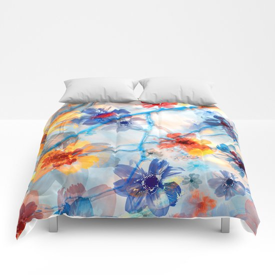 Floral abstract(37). Comforters