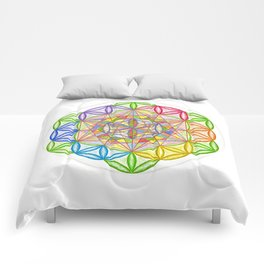 Hidden Jewel - The Rainbow Tribe Collection Comforters