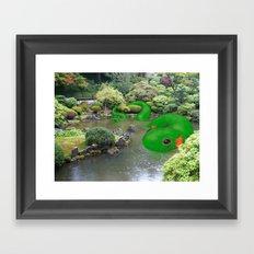 Dragonmander Framed Art Print