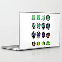 third eye Laptop & iPad Skins featuring Third Eye by Yuriy Miron