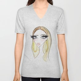 Golden Lady Unisex V-Neck