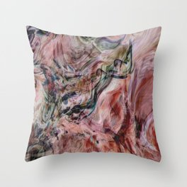 Desert Veils Throw Pillow