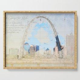 Gateway Arch, Saint Louis USA Serving Tray