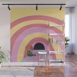 rainbow room Wall Mural