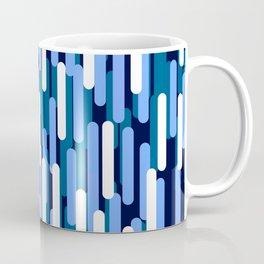 Fast Capsules Vertical Blue Coffee Mug