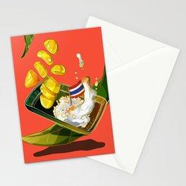 Mango sticky rice Stationery Cards
