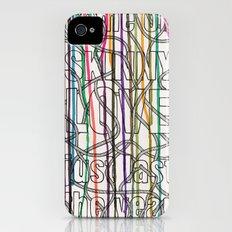 Skinny Love iPhone (4, 4s) Slim Case