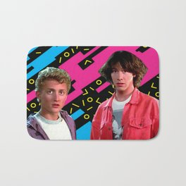Bill and Ted x Bath Mat