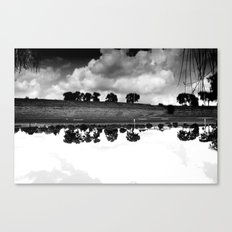 what is reflection? Canvas Print