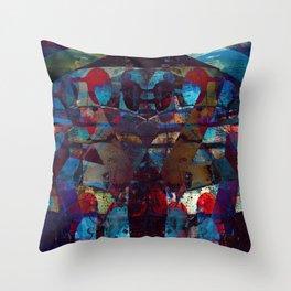 disquiet ten (loud introspections) Throw Pillow