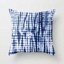 Shibori Tie Dye Pattern Throw Pillow