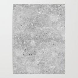 Gray Concrete Poster
