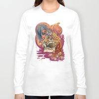 gemma correll Long Sleeve T-shirts featuring Rat Calaveria by Gemma Pallat by ToraSumi