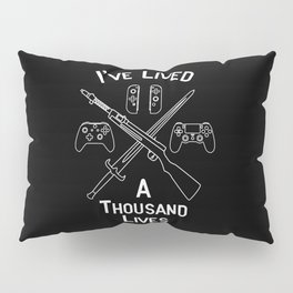 Gamer Lives Pillow Sham