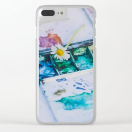 Watercolor Clear iPhone Case