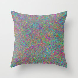 Color Medley Throw Pillow