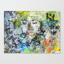 Abstract Face Canvas Print