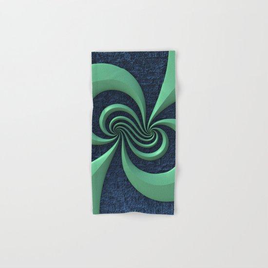 Green on Blue Hand & Bath Towel