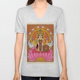 Goddess. Lakshmi Unisex V-Neck