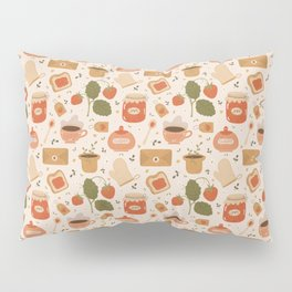 Strawberry Jam Pillow Sham