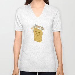 """""""Nuts and  Nugs"""" Unisex V-Neck"""