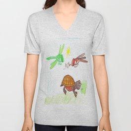 Turtle Day Unisex V-Neck