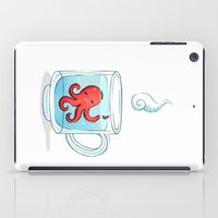totes iPad Cases featuring Octopus Tea by Freeminds
