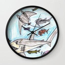 Playful Ray Wall Clock