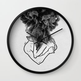 Let's make a storm of love. Wall Clock