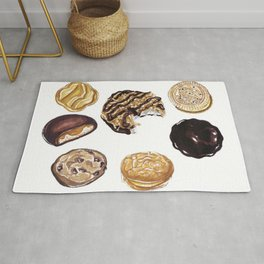 Girl Scout Cookies Rug