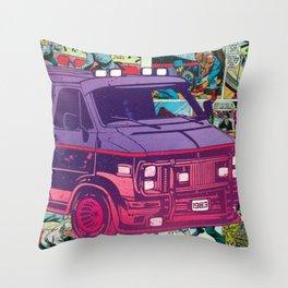 A-Team Vandura Pop Candy Throw Pillow