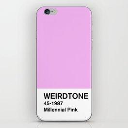 Millennial Pink iPhone Skin
